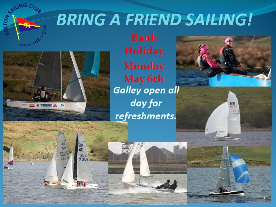 Bring a Friend Sailing Day