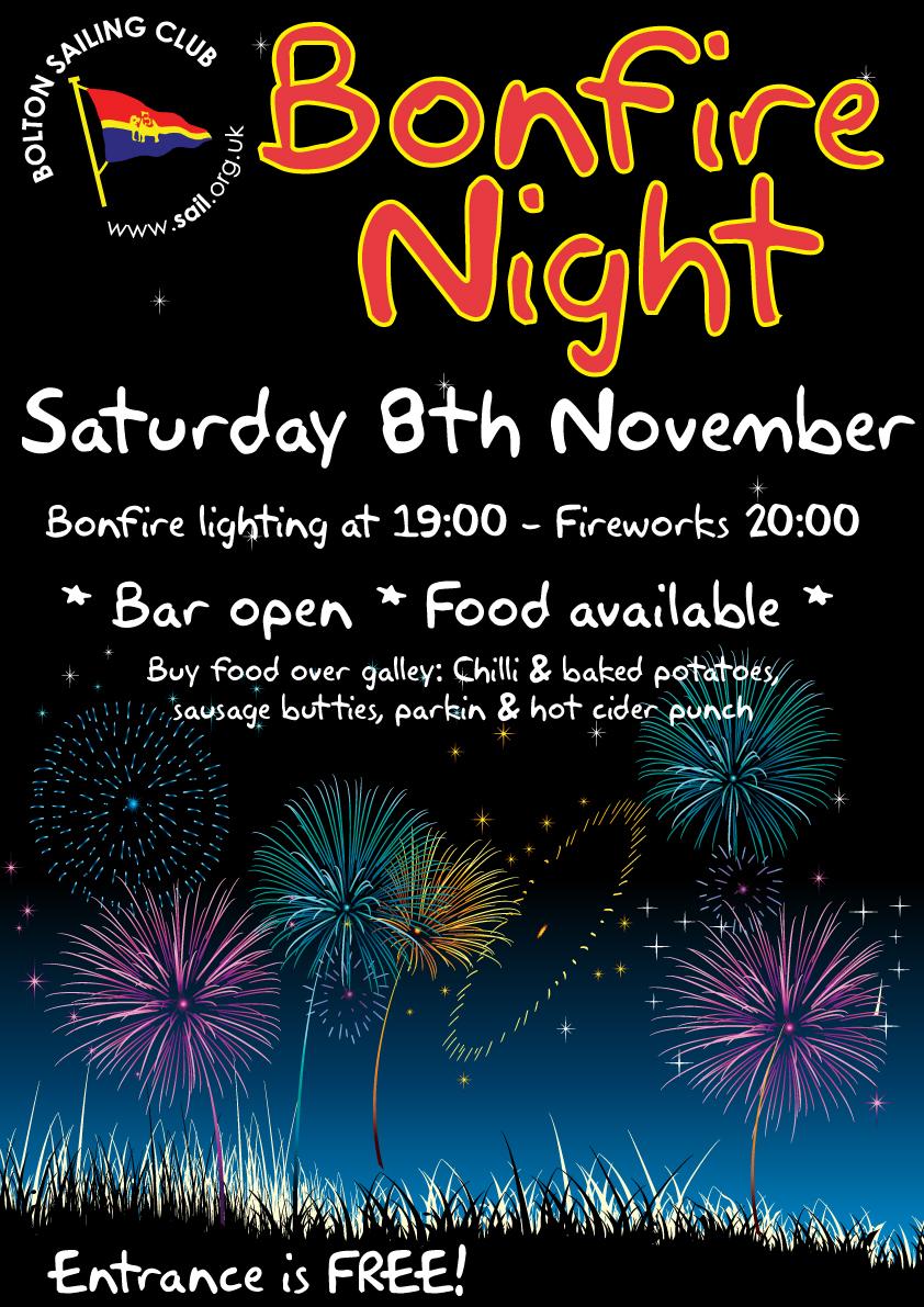 Bonfire night is back!