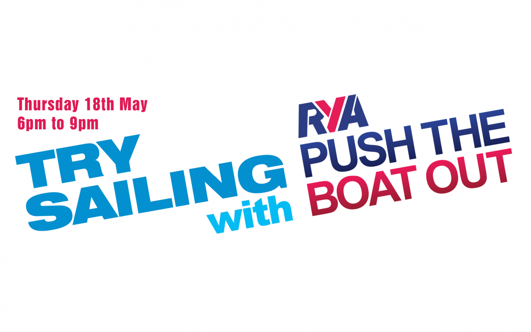 Try Sailing with BSC – Thursday 18th May 2017